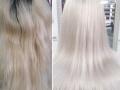 Осветление корней + Окрашивание волос Colorance Cover Plus (фитоламинирование)